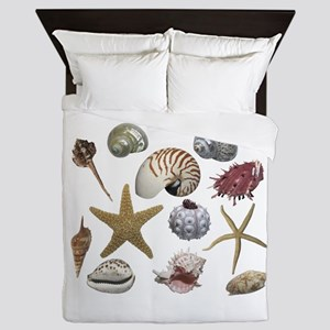 Shells Queen Duvet