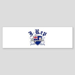 I Rep Anguilla Sticker (Bumper)