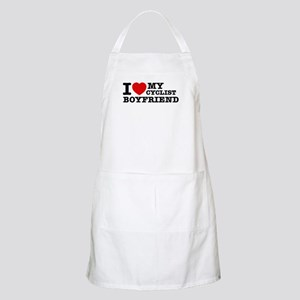 I love My Cyclist Boyfriend Apron