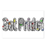 GotPride_White Postcards (Package of 8)
