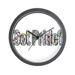 GotPride_White Wall Clock