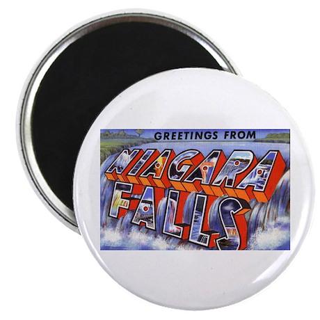 """Niagara Falls Greetings 2.25"""" Magnet (10 pack)"""
