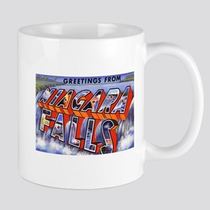 Niagara Falls Greetings Mug