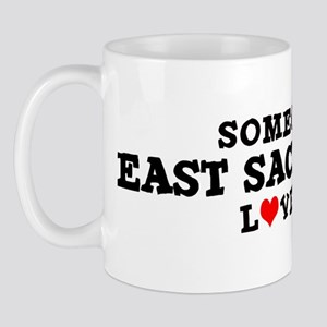 East Sacramento: Loves Me Mug