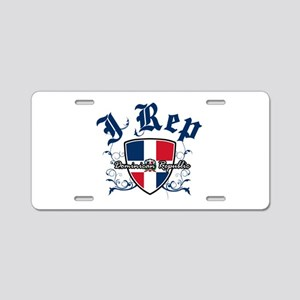 I Rep Dominican Republic Aluminum License Plate