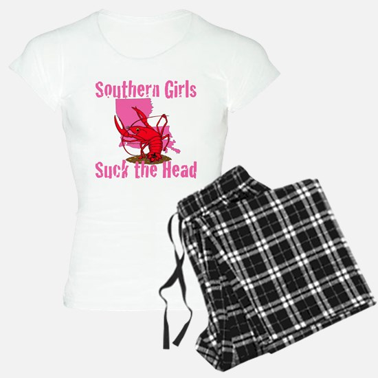 Southern Girls Suck the Head Pajamas