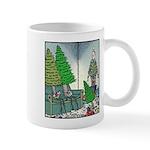 Human Christmas tree Mug