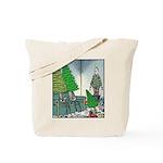 Human Christmas tree Tote Bag