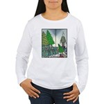 Human Christmas tree Women's Long Sleeve T-Shirt
