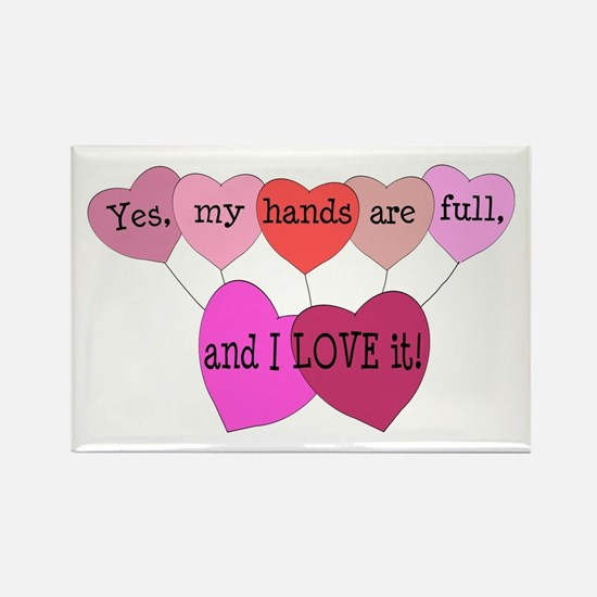 Yes, my hands are full, and I LOVE it! Rectangle M