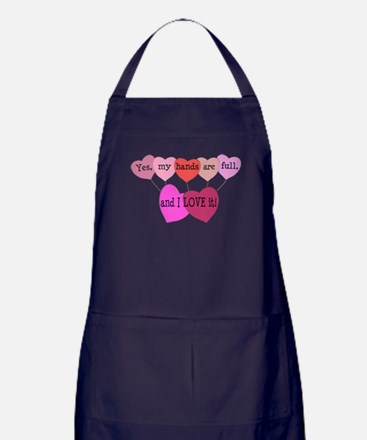 Yes, my hands are full, and I LOVE it! Apron (dark