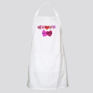 Yes, my hands are full, and I LOVE it! Apron