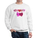 Yes, my hands are full, and I LOVE it! Sweatshirt