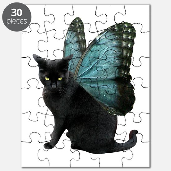 Butterfly Cat Puzzle