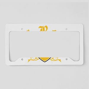 I Rep Barbados License Plate Holder