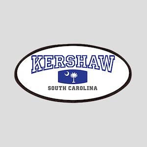 Kershaw South Carolina, SC, Palmetto State Flag Pa
