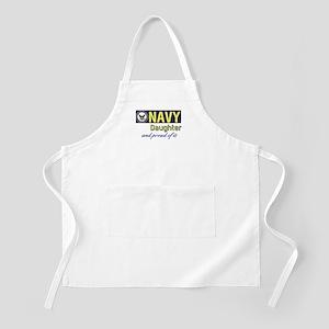 Navy Daughter Apron