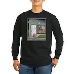Human Halloween Pumpkin Long Sleeve Dark T-Shirt