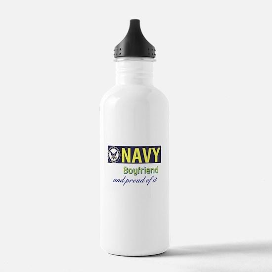 Navy Boyfriend Water Bottle