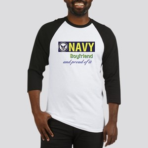 Navy Boyfriend Baseball Jersey