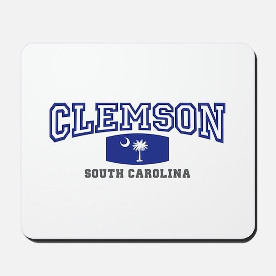 Clemson South Carolina, SC, Palmetto State Flag Mo