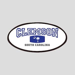 Clemson South Carolina, SC, Palmetto State Flag Pa