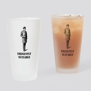 Eminently Suitable Drinking Glass