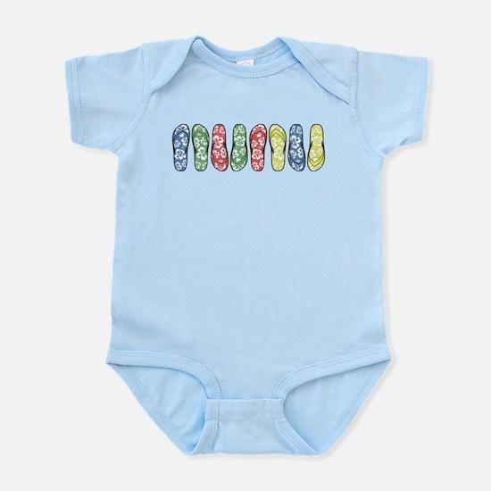 Rainbow Flops Infant Bodysuit