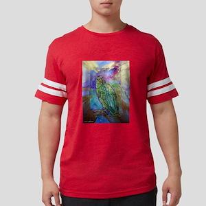 Amazon, Green parrot, art! Mens Football Shirt