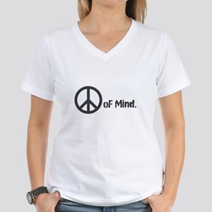 Peace oF Mind. Women's V-Neck T-Shirt