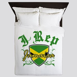 I Rep Jamaica Queen Duvet