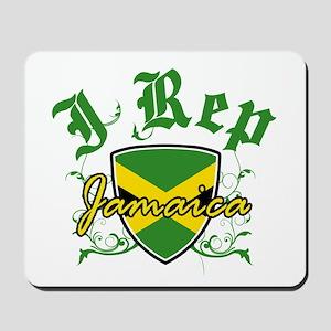 I Rep Jamaica Mousepad