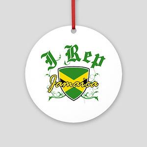I Rep Jamaica Ornament (Round)