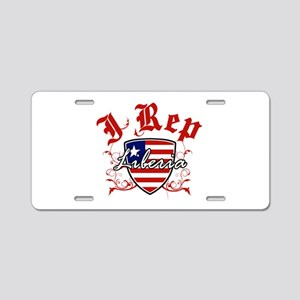 I Rep Liberia Aluminum License Plate