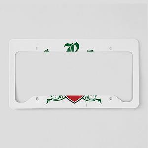 I Rep Morocco License Plate Holder