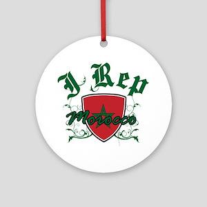 I Rep Morocco Ornament (Round)