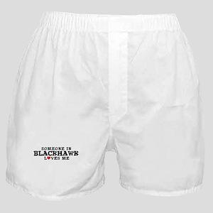 Blackhawk: Loves Me Boxer Shorts