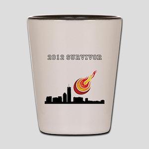 2012 SURVIVOR. Shot Glass