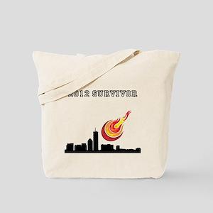 2012 SURVIVOR. Tote Bag