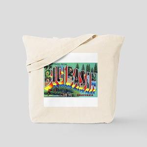 Redwood Big Basin Greetings Tote Bag