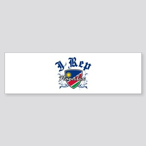 I Rep Namibia Sticker (Bumper)