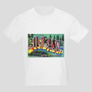 Redwood Big Basin Greetings (Front) Kids T-Shirt
