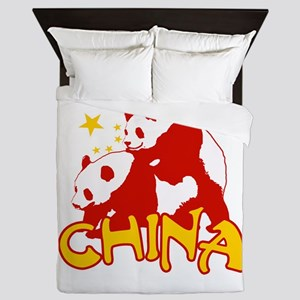 China Queen Duvet