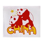 China Throw Blanket
