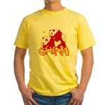 China Yellow T-Shirt