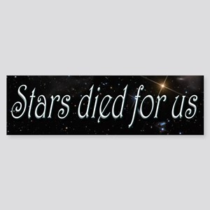 Stars Died for Us Sticker (Bumper)