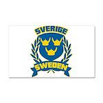 Swedish Car Magnet 20 x 12