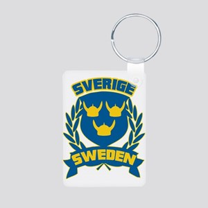 Swedish Aluminum Photo Keychain