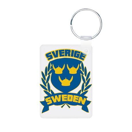 Swedish Aluminum Photo Keychain