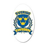 Swedish 22x14 Oval Wall Peel